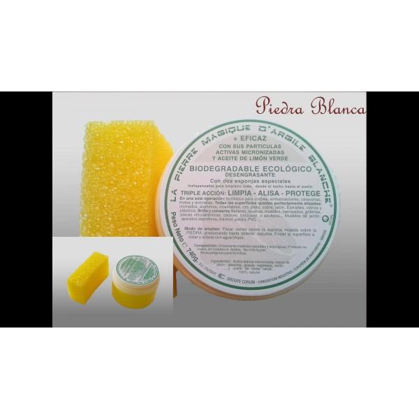 Piedra blanca 740 gr compra ecol gico for Piedra blanca limpieza mercadona